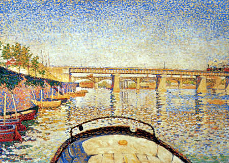 Paul Signac - Stern of the Boat