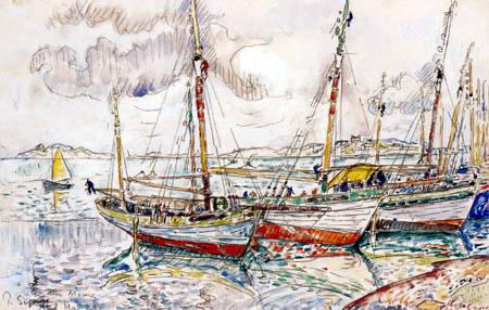 Paul Signac - Île-Aux-Moines