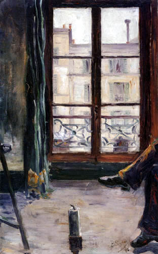 Paul Signac - Im Studio, Montmartre