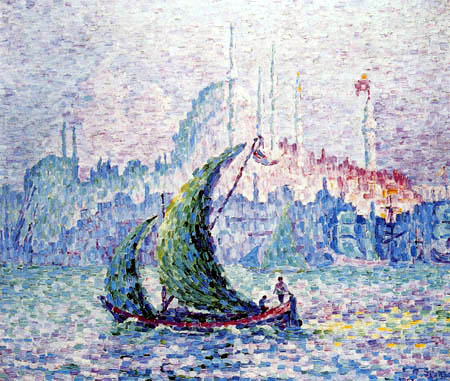 Paul Signac - Constantinople, The golden horn