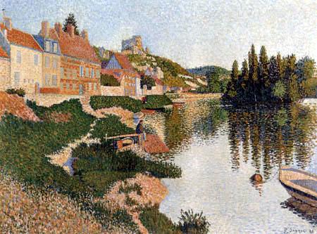 Paul Signac - Les Andelys