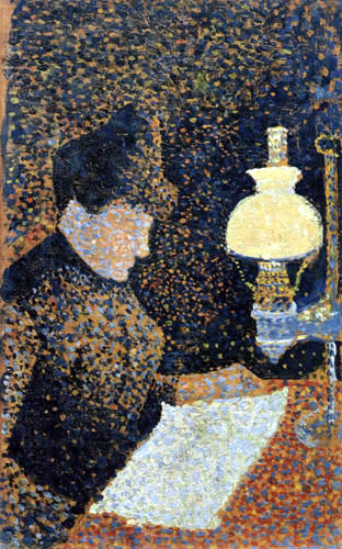 Paul Signac - Lecture de femme