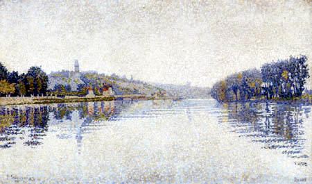 Paul Signac - Nebel in Herblay