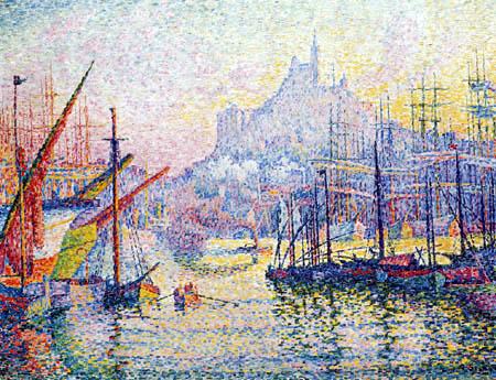 Paul Signac - Notre Dame de la Garde, Marseilles