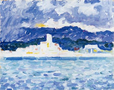 Paul Signac - East Wind, Antibes