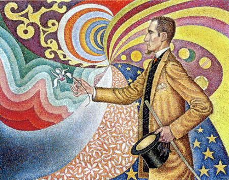 Paul Signac - Portrait of Félix Fénéon