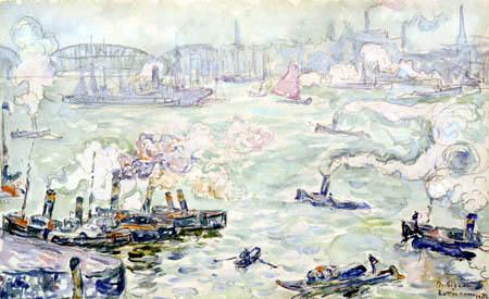 Paul Signac - Rotterdam