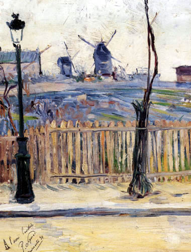 Paul Signac - Rue Caulaincourt
