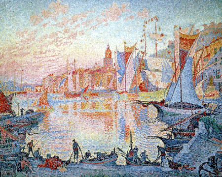 Paul Signac - Saint Tropez