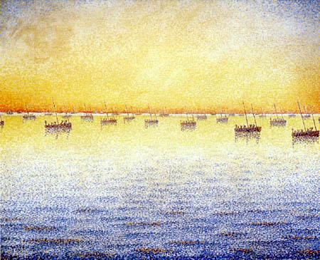 Paul Signac - Sardinenfischer, Concarneau