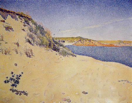 Paul Signac - Plage près de Saint-Brieuc