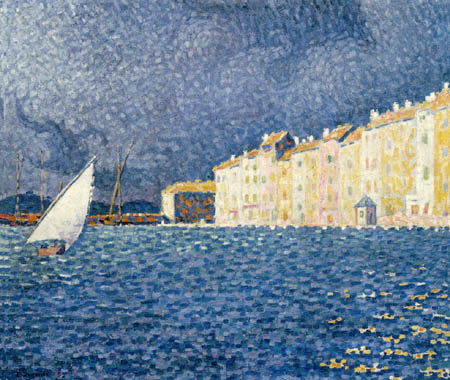Paul Signac - The Storm, Saint Tropez