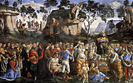 Luca Signorelli - From the life of Moses