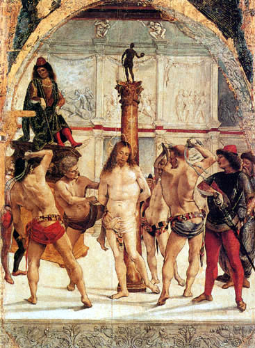 Luca Signorelli - The Flagellation of Christ