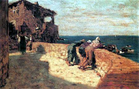 Telemaco Signorini - Blick auf die See