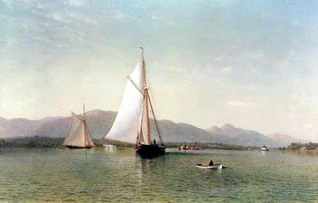 Francis Augustus Silva - Hudson River near Tappan Zee