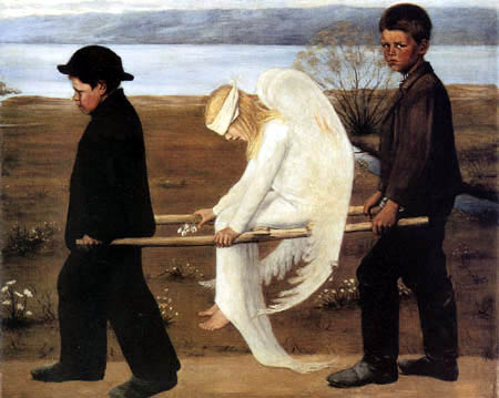 Hugo Simberg - Wounded Angel