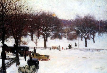 Edward Emerson Simmons - Boston Public Gardens
