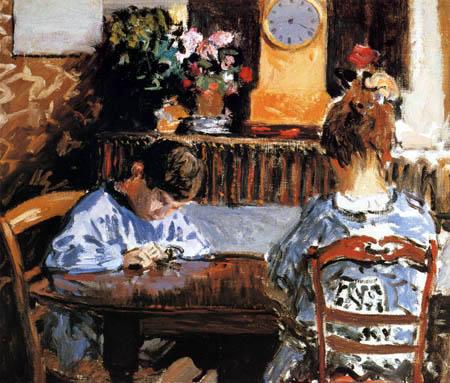 Alfred Sisley - Im Unterricht