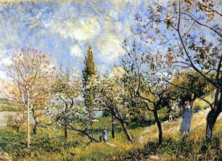 Alfred Sisley - Im Frühling