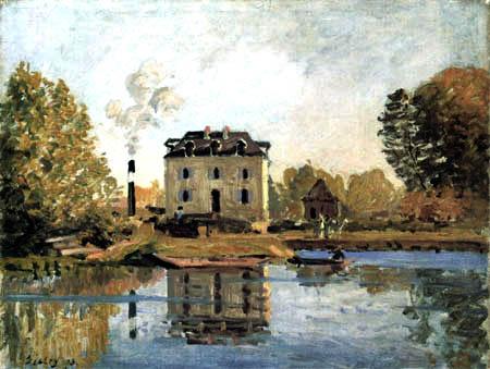 Alfred Sisley - Flood Water