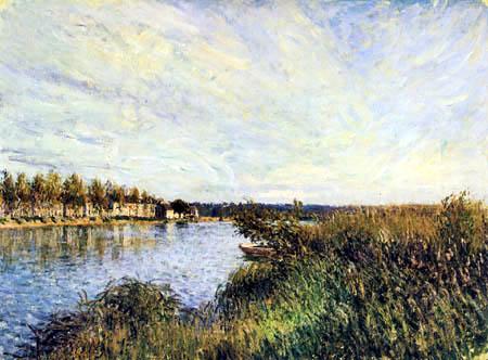 Alfred Sisley - Vue de Saint Mammes