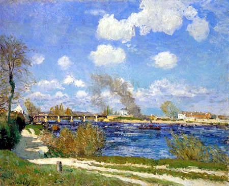 Alfred Sisley - Bougival