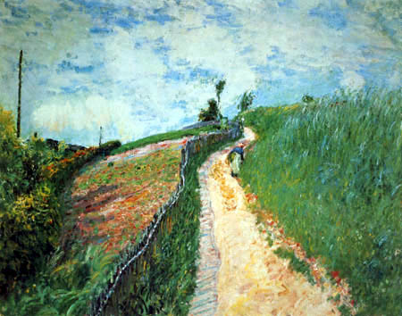 Alfred Sisley - Road to Ville d´Avray