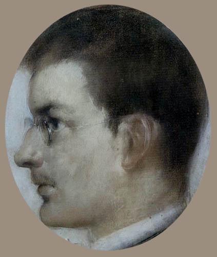 Max Slevogt - Selfportrait