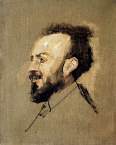 Max Slevogt - Portrait de Francisco d´Andrade
