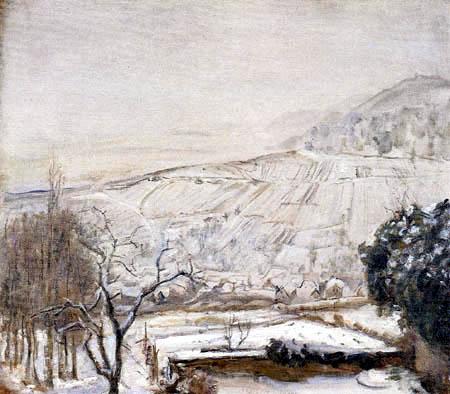 Max Slevogt - Winterlandschaft
