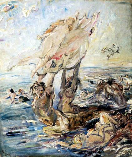 Max Slevogt - Birth of Venus II