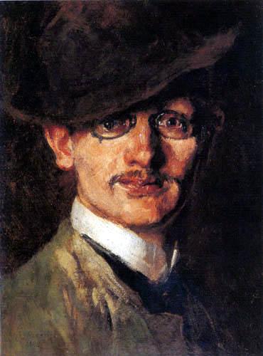 Max Slevogt - Autoportrait