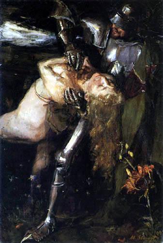 Max Slevogt - Frau Aventuire