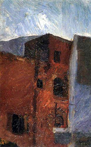 Max Slevogt - Houses of Capri