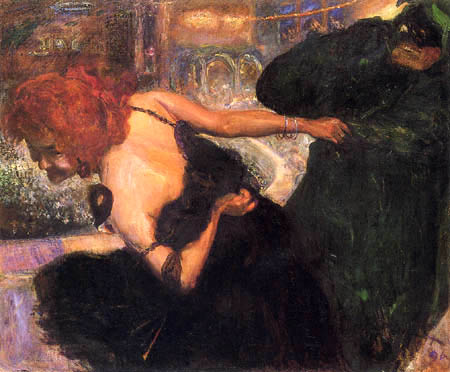 Max Slevogt - Dead dance