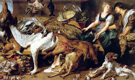 Frans Snyders (Snijders) - Kitchen still life