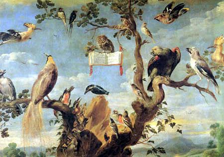 Frans Snyders (Snijders) - Vogelkonzert