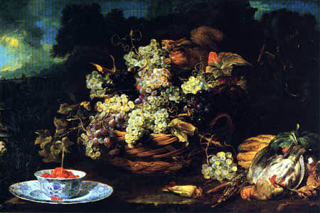 Frans Snyders (Snijders) - Still life with a Squirrel