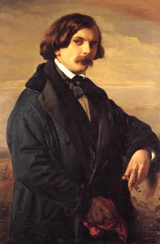 Carl Ferdinand Sohn - The painter Christian Koehler