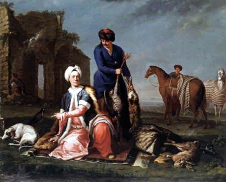 Andrea Soldi - Henry Lannoy in oriental dress