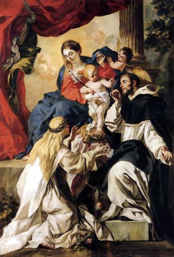 Francesco Solimena - Madonna with Child