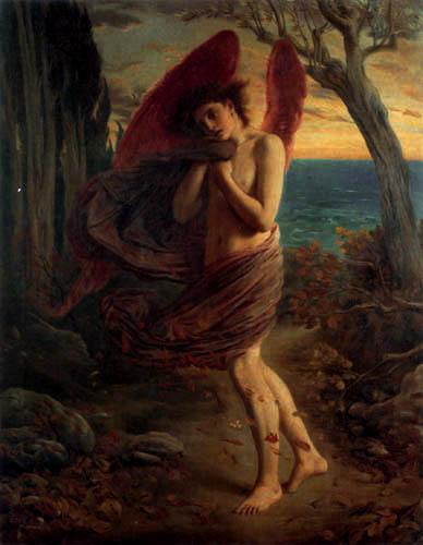 Simeon Solomon - Amor en el otoño
