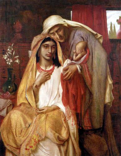 Simeon Solomon - Ruth und Naemi