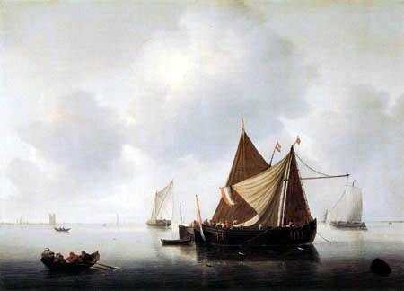 Hendrick Maertensz. Sorgh - Merwede