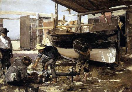 Joaquín Sorolla y Bastida - Boat Builders