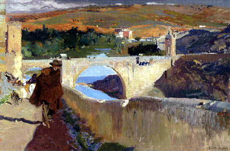 Joaquín Sorolla y Bastida - The Blind Man of Toledo
