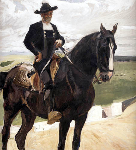 Joaquín Sorolla y Bastida - Rider of Salamanca, Castilla