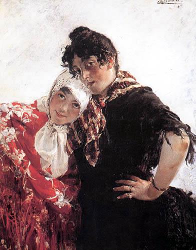 Joaquín Sorolla y Bastida - Die Angeberinnen