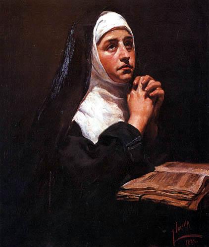 Joaquín Sorolla y Bastida - Nonne beim Beten